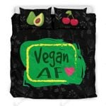 Vegan Af For Healthy Vegans Bedding Set Bedroom Decor
