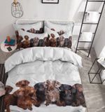 Dachshund Also Known As The Wiener Dog Or Sausage Dog Bedding Set Bedroom Decor