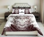 King Lion Abstract Contour Design  Bedding Set Bedroom Decor