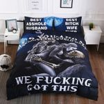 It'S You And Me Against The World Bedding Set Bedroom Decor