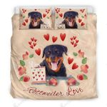 Rottweiler Love For Lovers Of Rottweilers Bedding Set Bedroom Decor
