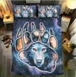 Wolf I Leave Scars Printed Bedding Set Bedroom Decor