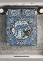 Elephant Blue Mandala 3D Printed Bedding Set Bedroom Decor