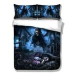 Horror Skull  Bedding Set Bedroom Decor