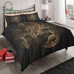 Gold Scorpion 3D Printed Bedding Set Bedroom Decor