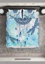 Mandala Blue Dragonflies  Bedding Set Bedroom Decor