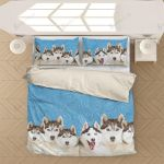 Husky Dogs General Name For A Sled Type Of Dog  Bedding Set Bedroom Decor