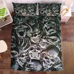Death Skull Black Bedding Set Bedroom Decor
