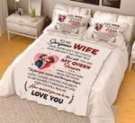 You Are My Queen Gift For Wife  Bedding Set Bedroom Decor