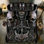Mummies Skull Bedding Set Bedroom Decor