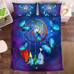Rainbow Dreamcatcher Butterfly  Bedding Set Bedroom Decor