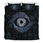 Viking Ravens Eye Odin Printed Bedding Set Bedroom Decor