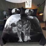 Wolve  Luna Moon Wolf Bedding Set Bedroom Decor