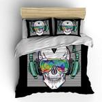 Shompe Music Skull  Bedding Set Bedroom Decor