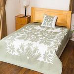 Hawaiian Palm Leaves Pineapple Bedding Set Bedroom Decor
