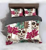 Sugar Skull Blossom Bedding Set Bedroom Decor