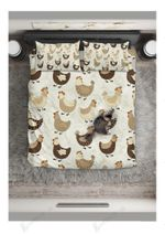 You Know What I Want Chicken Pattern  Bedding Set Bedroom Decor