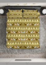 Llama Cute Pattern Printed Bedding Set Bedroom Decor