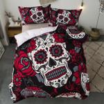 Day Of The Dead Skull Dia De Los Muertos Bedding Set Bedroom Decor