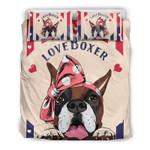 I Love Boxer Bedding Set Bedroom Decor