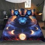 Galaxy Dreamcatcher Wolf Bedding Set Bedroom Decor