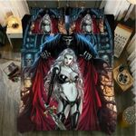 Warrior Girl Bedding Set Bedroom Decor