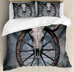 Wagon Wheel Bedding Set Bedroom Decor