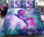 Unicorn Galaxy Fanciful Image Bedding Set Bedroom Decor