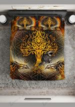Norse Born To Be Free Printed Bedding Set Bedroom Decor