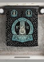 Norse Behind The Halo Printed Bedding Set Bedroom Decor
