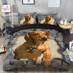 Happiness Is A Dachshund  Bedding Set Bedroom Decor