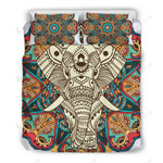 Mandala Elephant Vintage Background 3D Bedding Set Bedroom Decor