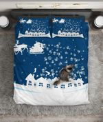 Christmas Season Greetings Bedding Set Bedroom Decor