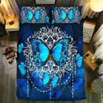 Butterfly Mandala Queen Printed Bedding Set Bedroom Decor