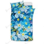 Bright Floral Wideflowers Abstract Bedding Set Bedroom Decor