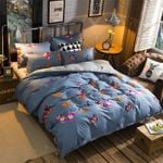Beautiful Butterfly Pattern Printed Bedding Set Bedroom Decor