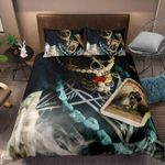 3D Skull Tarot Card Bedding Set Bedroom Decor