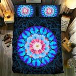 Blue Butterfly Mandala Bedding Set Bedroom Decor