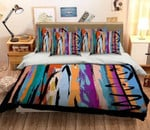 3D Colorful Painted Printed Bedding Set Bedroom Decor