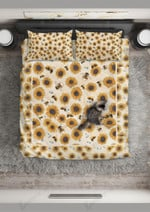 Bee The Pieces Of Sun Printed Bedding Set Bedroom Decor