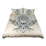 Beddingoutlet Indian Skull Tribal Printed Bedding Set Bedroom Decor