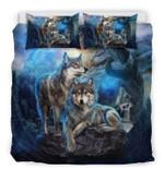 Cherokee Wolf Forest  Bedding Set Bedroom Decor