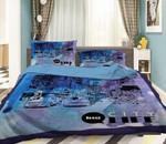 3D Bridge Car City Life  Bedding Set Bedroom Decor