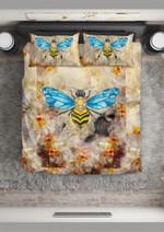 Crystal Bee  Bedding Set Bedroom Decor
