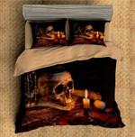 3D Ghost Blows Comforter Printed Bedding Set Bedroom Decor
