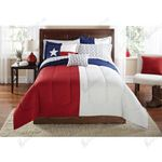 American Red White and Blue Bedding Set Bedroom Decor