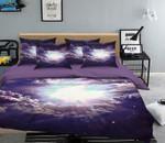 3D Cloudy Sky Bright Sun  Bedding Set Bedroom Decor