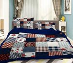 3D Cloth Stitching Bedding Set Bedroom Decor