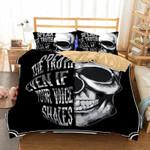 3D Skull Speak The Truth Bedding Set Bedroom Decor