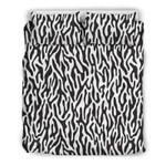 Black And White Animal Pattern Printed Bedding Set Bedroom Decor